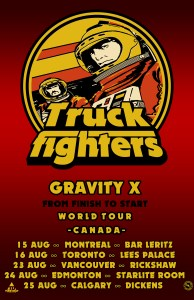 TRUCKFIGHTERS @ The Rickshaw Theatre