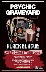 PSYCHIC GRAVEYARD | Plack Blague | Washers | Invasives @ The Rickshaw Theatre