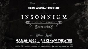 INSOMNIUM | Omnium Gatherum @ The Rickshaw Theatre