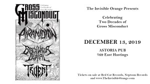 GROSS MISCONDUCT 20 YEARS @ Astoria Pub