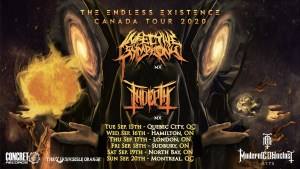 INFECTIVE SYMPHONY & INDEPTH CANADA TOUR 2020 @ Eastern Canada