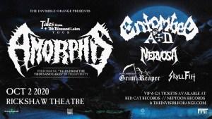 AMORPHIS & GRIM REAPER @ Rickshaw Theatre