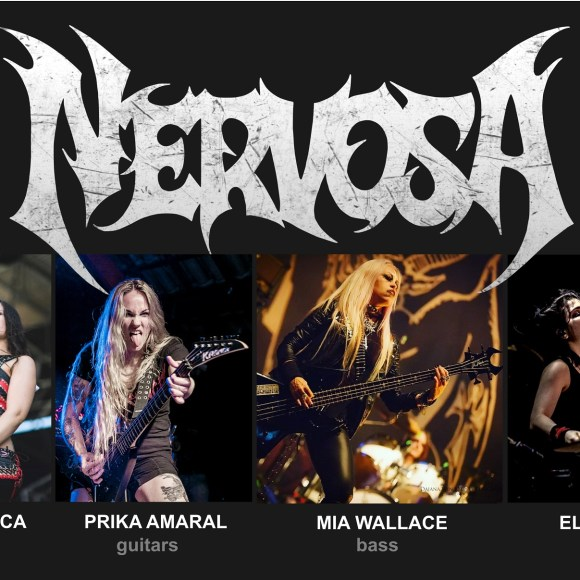 Brazilian Thrashers NERVOSA Announce New Band Line Up!