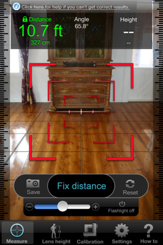 Turn your iPhone into a Tape Measure with Point  Measure