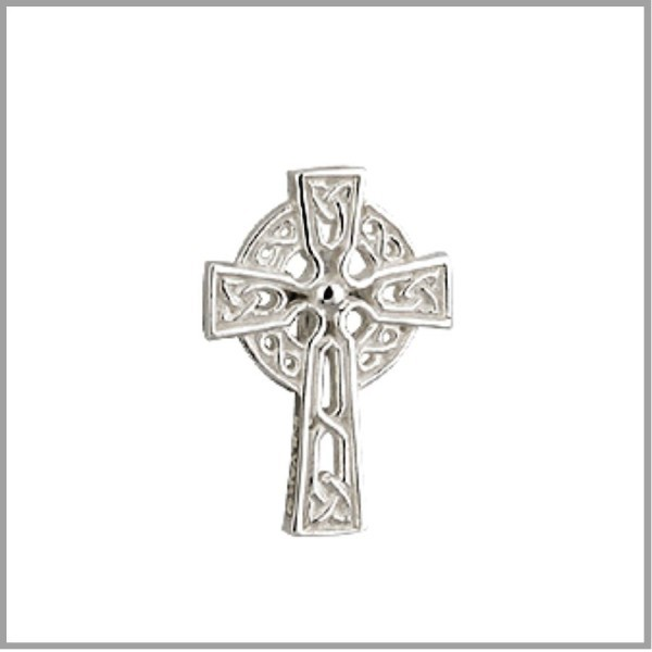 Communion or Baptism Celtic Cross Pin