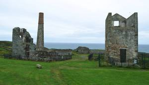Copper Coast Geopark - Tankardstown Cornish Engine Houses at Bunmahon - The Irish Place