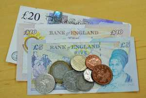 Pounds Sterling - Notes and Coins - The Irish Place