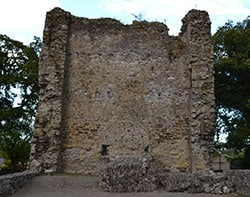 East Wall of Original Church at Timahoe - The Irish Place