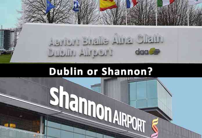 Dublin or Shannon Airport - The Irish Place