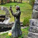 Statue of St Brigits at St Brigits Holy Well, Kildare - The Irish Place