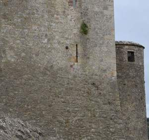 Cannon Ball embedded in the wall of Cahir Castle - The Irish Place