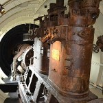 Engine Room of the Holland 1 - The Irish Place