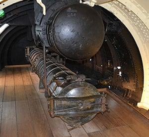 The Torpedo Tube on the Holland 1 - The Irish Place