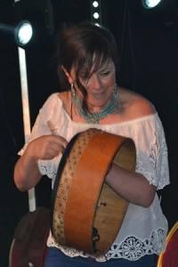 Cathy Jordan on Bodhrán - The Irish Place