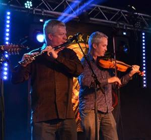Liam Kelly and Tom Morrow of Dervish - The Irish Place