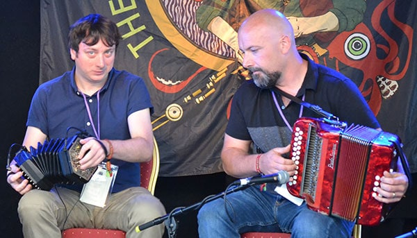 Concertina and Button Accordion - The Irish Place