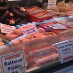 A wide variety of fresh meat is on display on the various butchers stalls in the English Market Cork - The Irish Place