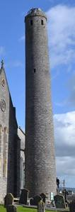 The Round Tower at St Canice's Cathedral Kilkenny - The Irish Place