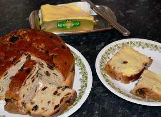 Irish Barmbrack traditionally baked for Halloween - The Irish Place
