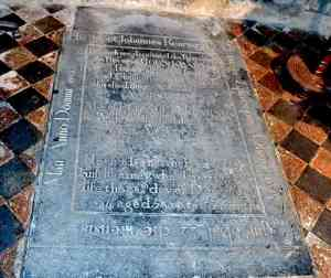 The Grave of Bishop John Kearney, the great-great-great grand uncle of Barack Obama in St Canice's Cathedral Kilkenny - The Irish Place