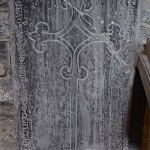 Graveslab of Jose de Kyteller, the father of Dame Alice de Kyteller - The Irish Place