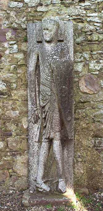 Effigy known as 'Cantwell Fada' in Kilfane Church - The Irish Place