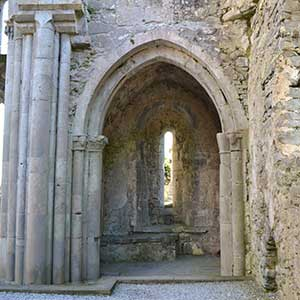 South Transcept Chapel in Corcomroe Abbey - The Irish Place