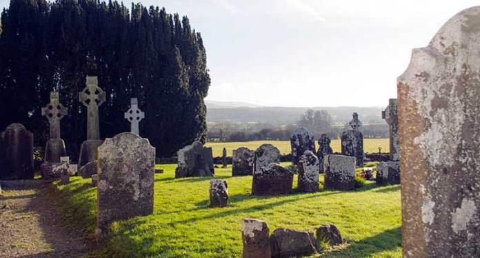 Graveyards at Sacred Sites