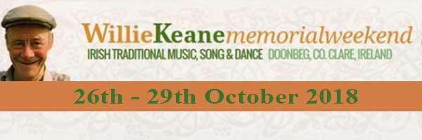 Willie Keane Memorial Weekend 2018