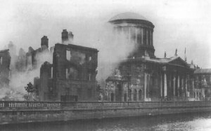 The Four Courts in 1922.