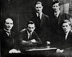 The IRA Squad in pre-split days. They were pro-Treaty to man because of their loyalty to Michael Collins.