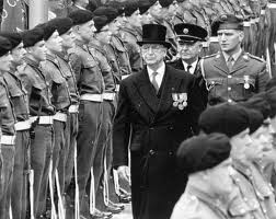 Eamon de Valera commemorating the 1916 Rising in 1966