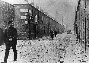 A Belfast riot in 1922, the city