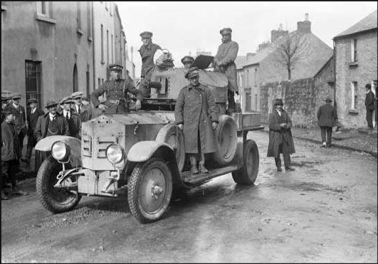 The tragedies of ballyconnell the irish story free state troops in sligo in an armoured car fandeluxe Images