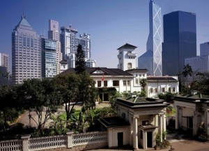 'Government House' in Hong Kong today.