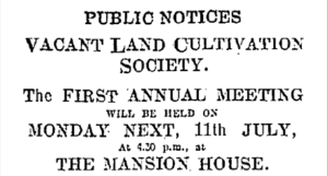 Land Cultivation Society