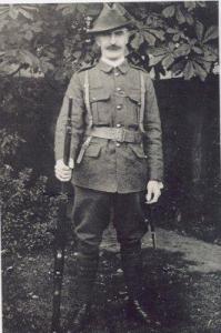 O'Rahilly in Volunteer uniform.