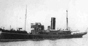 The gun boat Helga.