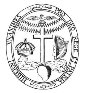 The Confederate Catholic seal.
