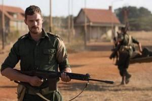Actor Jamie Doran playing commandant Qunlan in the film 'The Siege of Jadotville'.