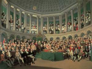 Wheatley, Francis; The Irish House of Commons; Leeds Museums and Galleries; http://www.artuk.org/artworks/the-irish-house-of-commons-37644