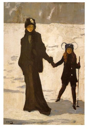 Irish Art Sale at Sotheby's: Japanese Winter, by Sir John Lavery