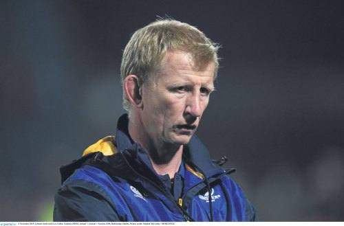 Leinster head couch Leo Cullen - European Rugby back on the agenda