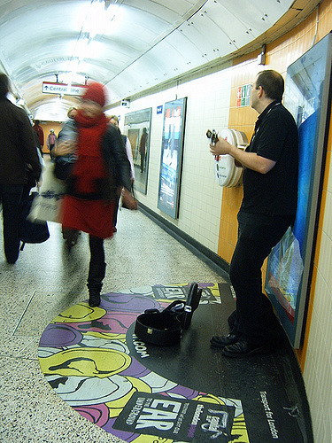 Irish buskers wanted by TfL