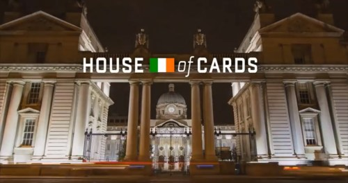 Watch: Irish version of House of Cards intro