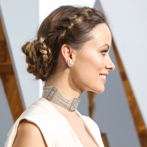 How to get Olivia Wilde's dreamy braided tresses