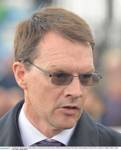 Aidan O'Brien looking to dominate Guineas weekend