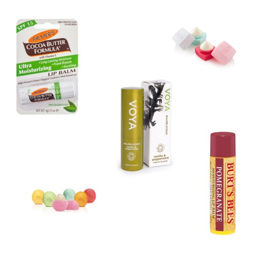 Hydrating lip balms for spring