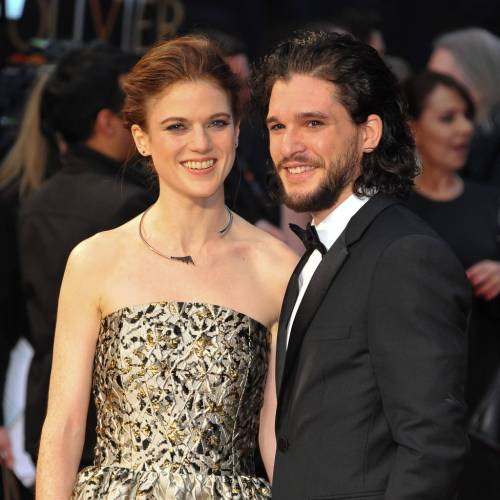 Game of Thrones stars support Kit Harington on London stage
