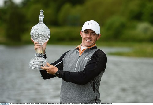 McIlroy shows touch of class